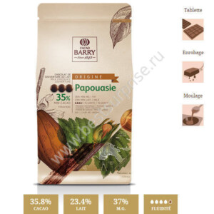 Шоколад кувертюр Origine Saint Domingue 70%, Cacao Barry 1 кг.