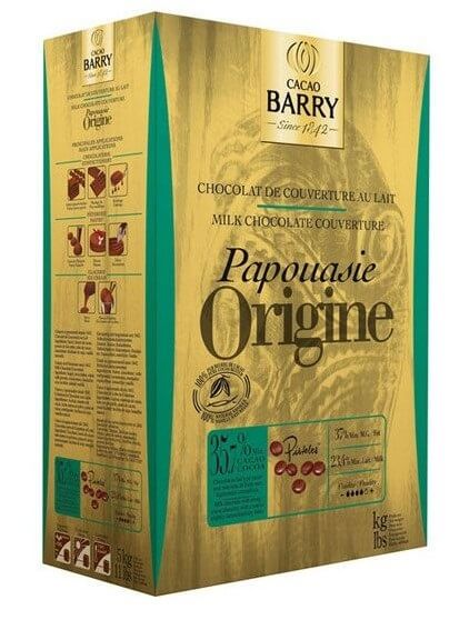 Шоколад кувертюр Origine Papouasie 36%, Cacao Barry 1 кг.