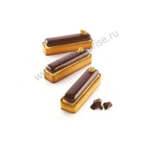 Набор для выпечки KIT TART RING Rectangular 120*35, Silikomart