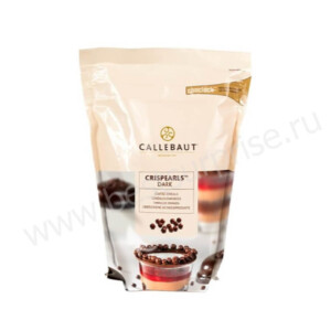 Темные жемчужины Crispearls Barry Callebaut 800 грамм