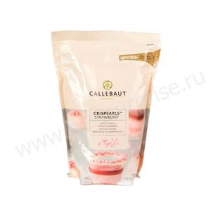 Жемчужины розовые Crispearls Barry Callebaut 800 гр.