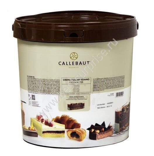 Темная глазурь Creme Dell`Artigiano Extra Bitter 10 кг. Barry Callebaut (Барри Каллебаут)