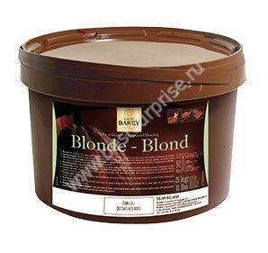Светлая глазурь Blond 5 кг.  Cacao Barry (Франция)
