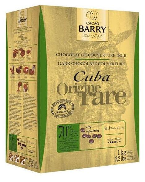 Шоколад кувертюр Origine Cuba 70%