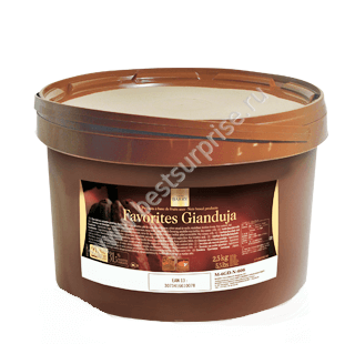 Темная джандуя 2.5 кг. Cacao Barry (Какао Барри)