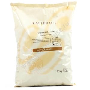 Шоколад со вкусом карамели Barry Callebaut 2.5 кг