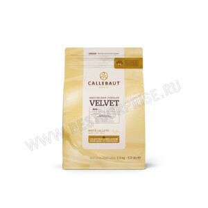 Белый бельгийский шоколад Velvet 33.1% Barry Callebaut