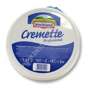 Сливочный сыр Cremette 65% Hohland (Креметте Хохланд), 2 кг.