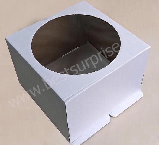 Упаковка для торта с окном 300*300*190