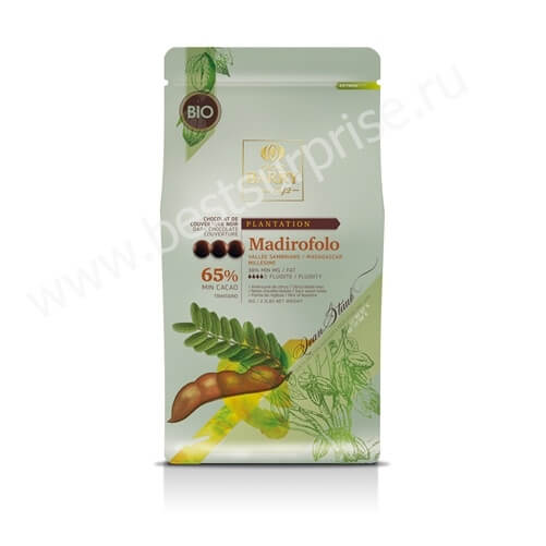 Шоколад кувертюр Madirifolo 65% Plantation, Cacao Barry 1 кг.