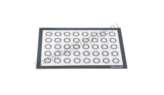 Профессиональный силиконовый коврик для макаронс 60*40 см. (армированный)