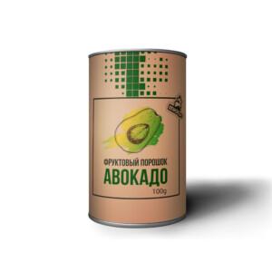 Фруктовый порошок из авокадо