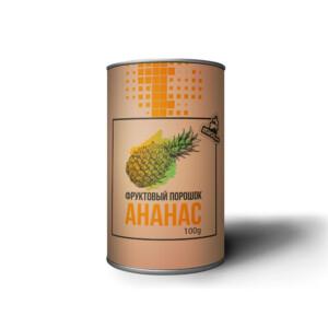 Натуральный фруктовый порошок из ананаса