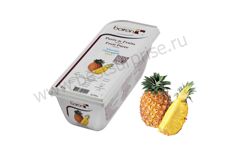 Пюре из ананаса «Boiron» (Буарон) 1 кг.