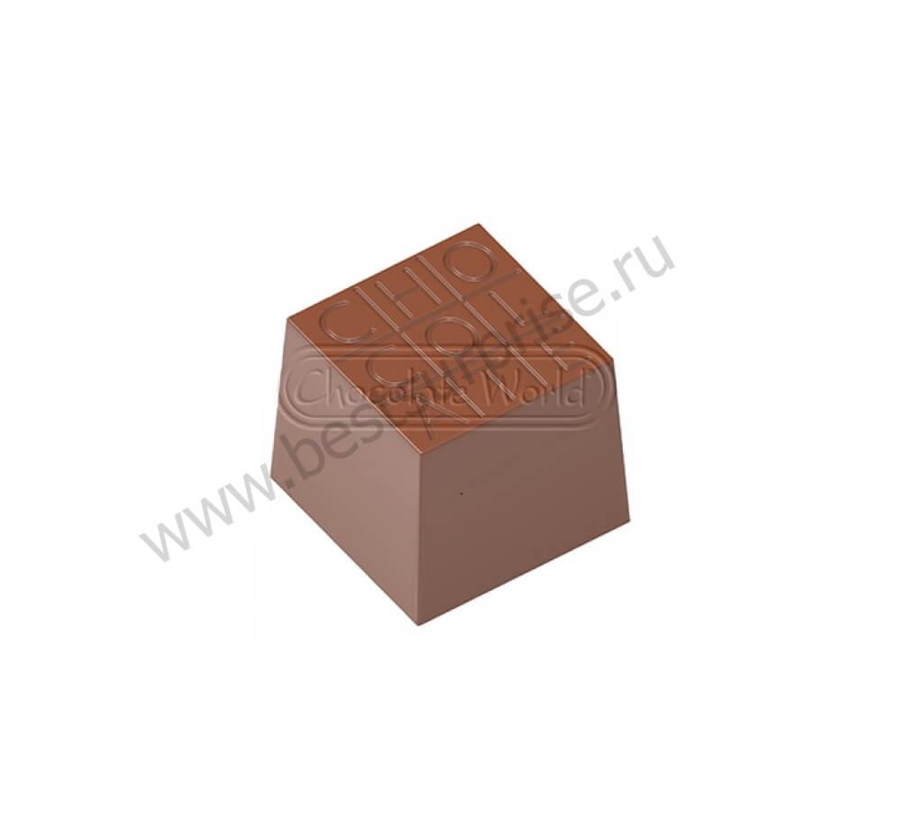 Поликарбонатная форма для конфет CW1729, Chocolate World