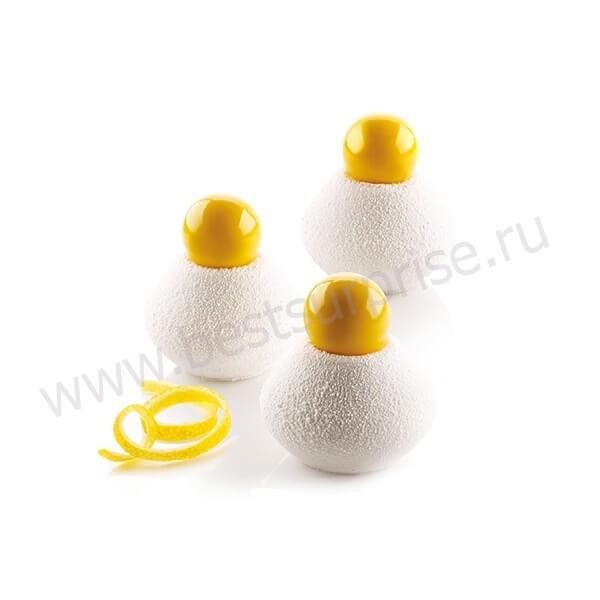 Силиконовая форма для пирожных Fragrance 115, Silikomart