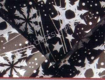 Переводной лист для шоколада «Снежинки», 1 шт. Martellato