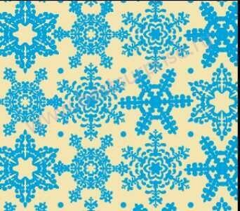 Переводной лист для шоколада «Снежинки синие», 1 шт. Martellato
