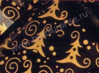 Переводной лист для шоколада «Ель золотая», 1 шт. Martellato