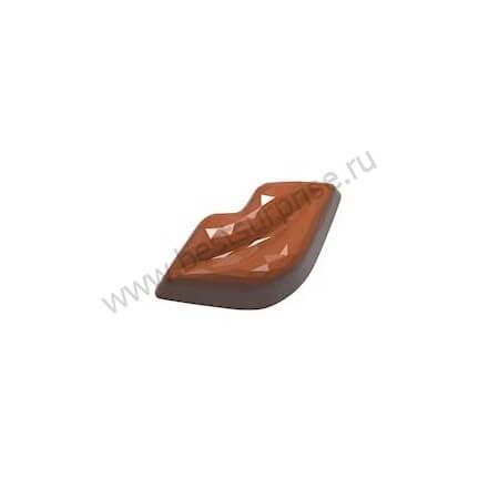 Поликарбонатная форма для конфет CW1937, Chocolate World