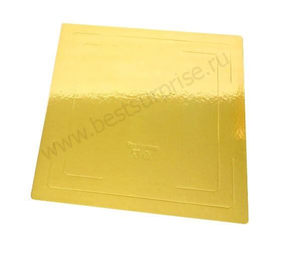 Подложки квадратные усиленные под торт 300х300