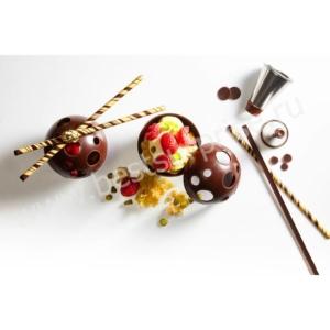 Палочки для декора из горького шоколада GOLD WANDS 21 шт. Mona Lisa