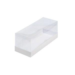 Коробка под рулет с пластиковой крышкой 300*120*120 (белая)