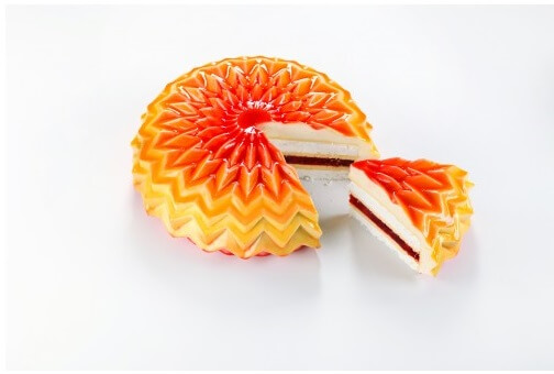 Силиконовая форма для торта Folding Cake by Dinara Kasko