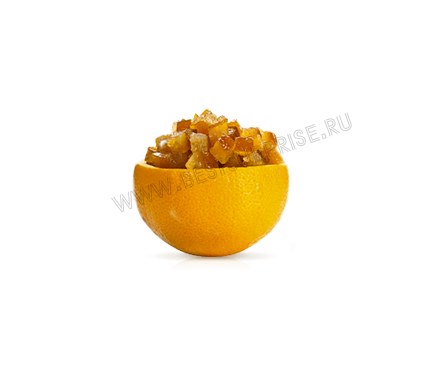 Засахаренные цукаты Апельсины (кубики 6х6 мм.), 250 гр. Agrimontana