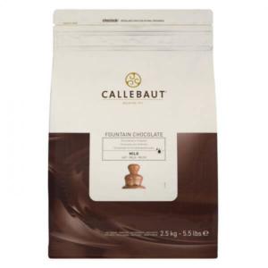 Специальный молочный шоколад для фонтана 37,8% Barry Callebaut 2.5 кг